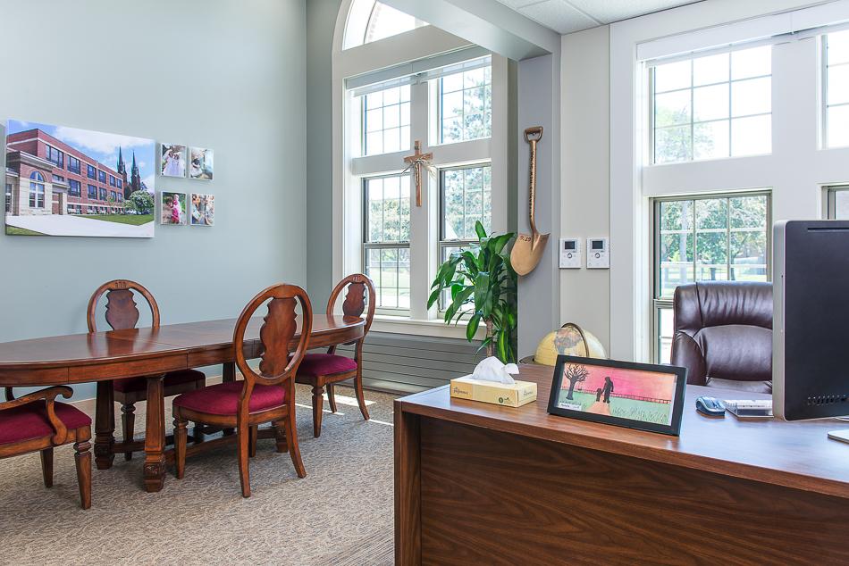 Principal's office.