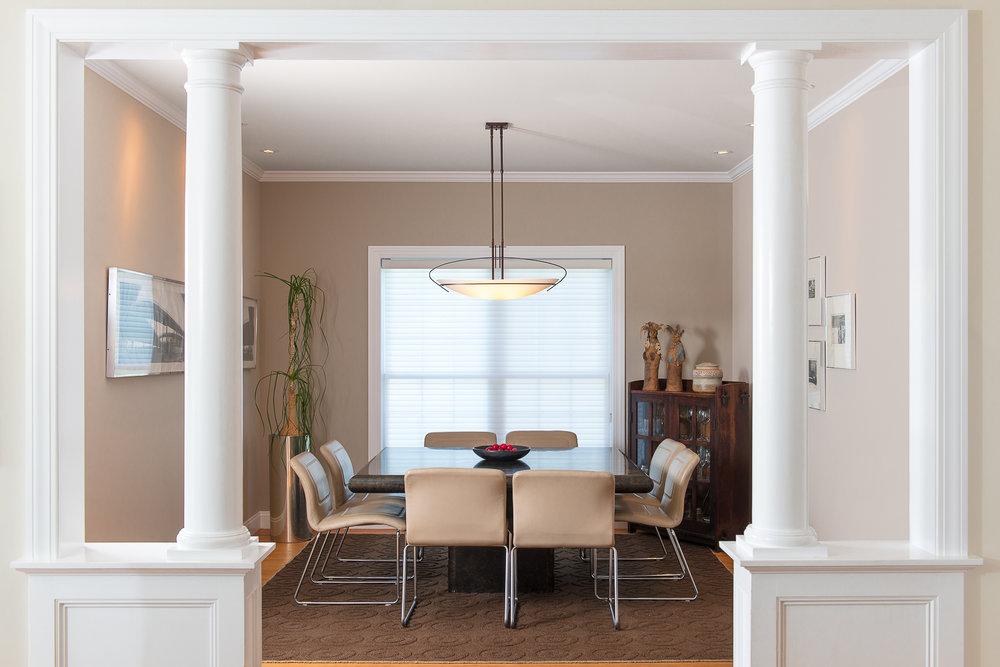 South Burlington, VT: Dining room
