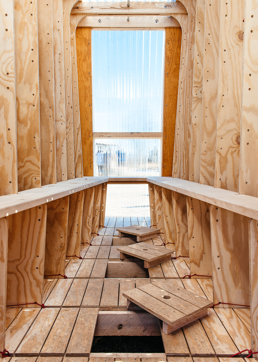 Ice Ark: Ice Fishing Shanty Interior