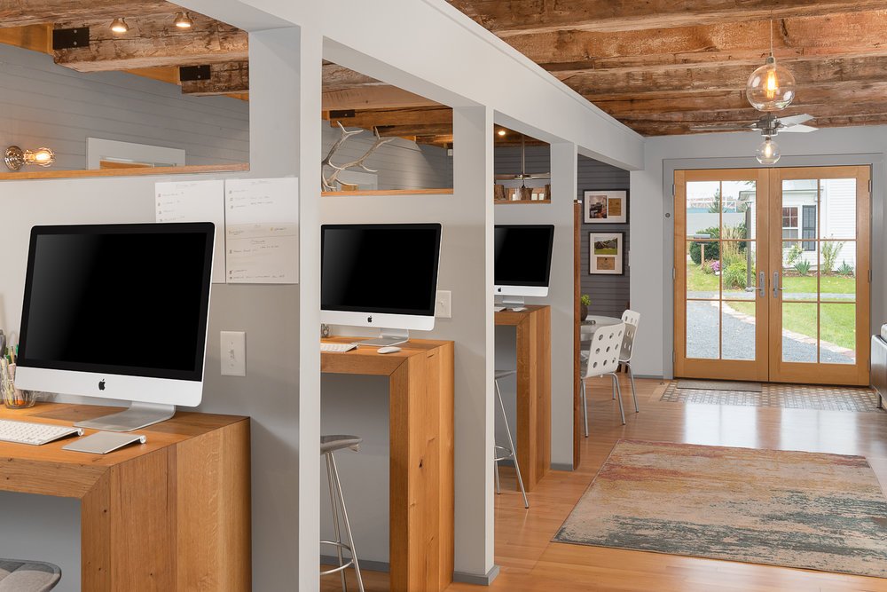 Shelburne, VT. Sweeney Design Build Office