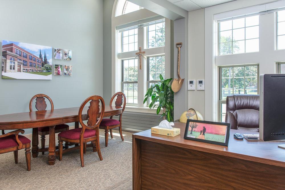 Winooski, VT. St. Francis Xavier School Principal's Office