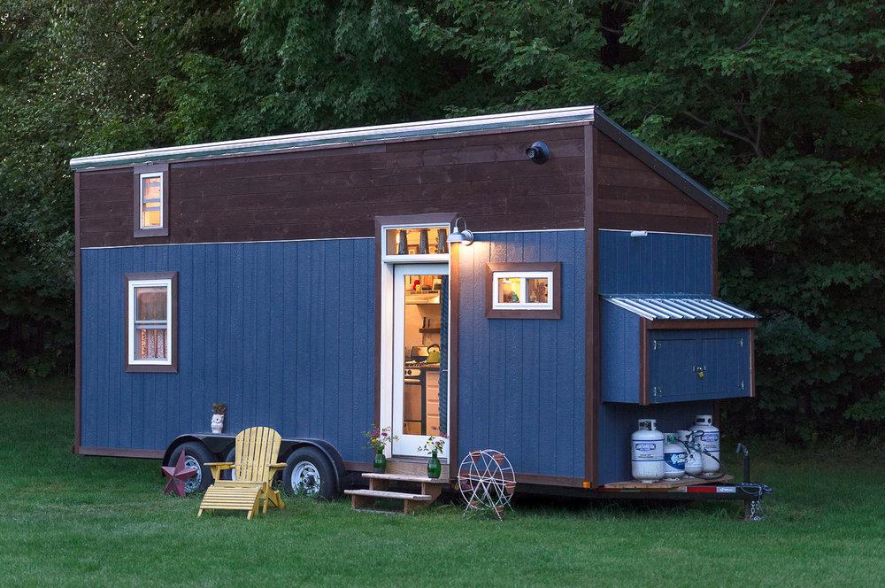 Jericho, VT. Chrissy Lou's Tiny Home