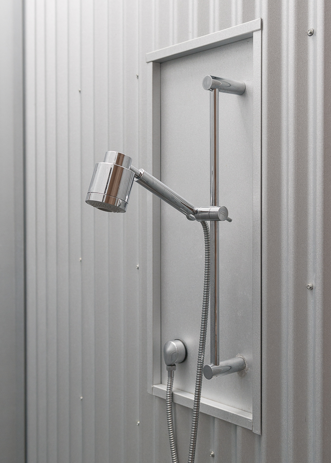 Shower detail.