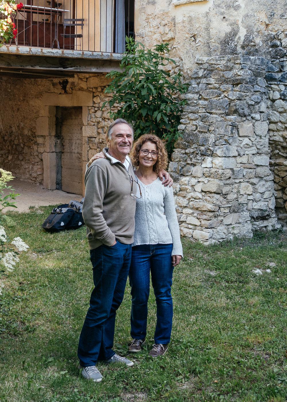 Fabienne and Jean-Daniel.
