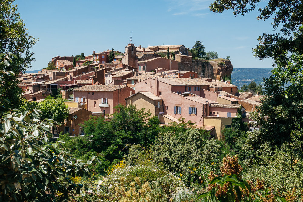 Roussillon, France.
