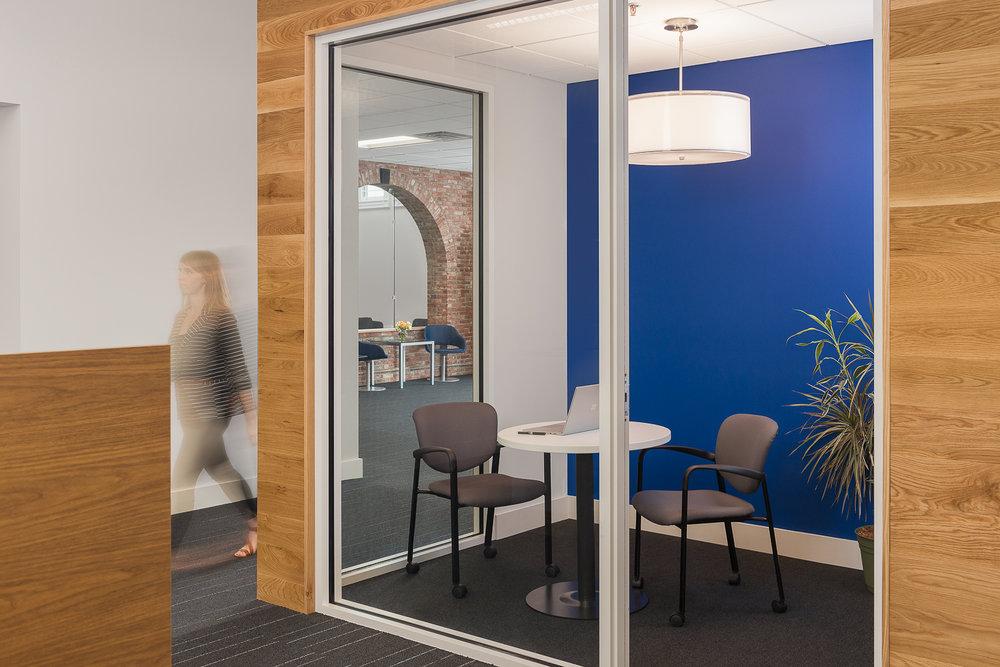 Strategic Risk Solutions focus room.