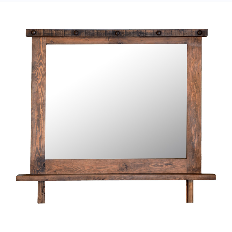 RUSTIC MIRROR FRAME $189