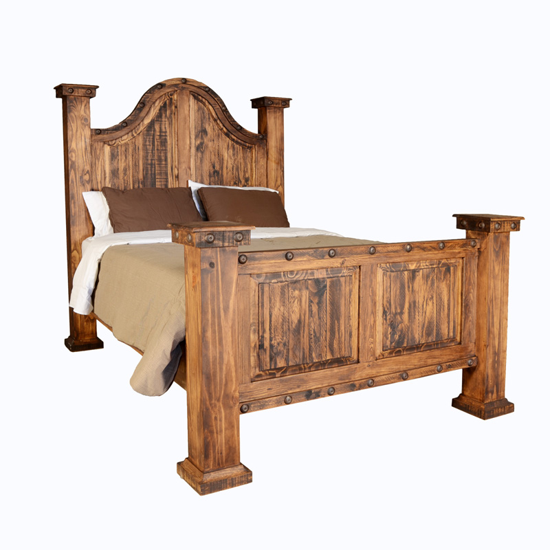 RUSTIC RANCH BED $699