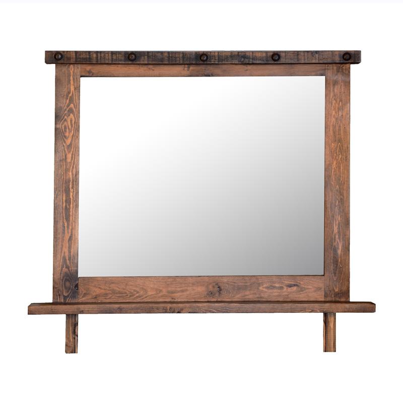 Rustic Mirror Frame