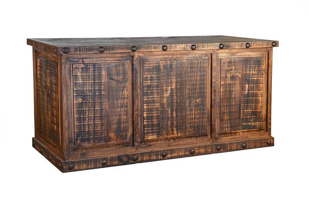 RUSTIC EXECUTIVE DESK                    $549