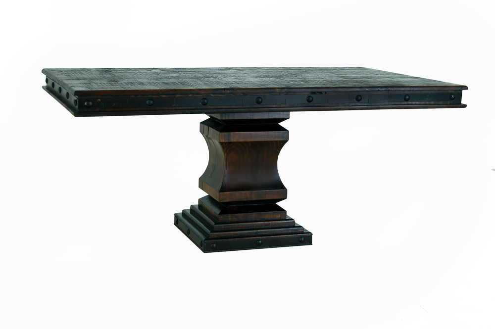 GRAND HACIENDA 6 FT. single pedestal TABLE $799