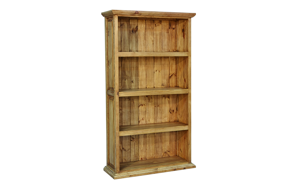 SANTA RITA 4 SHELF BOOKCASE               $199