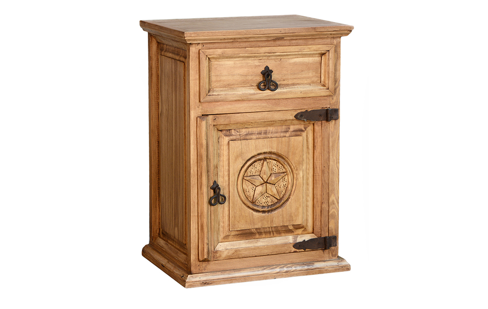 small NIGHTSTAND WITH STAR $115