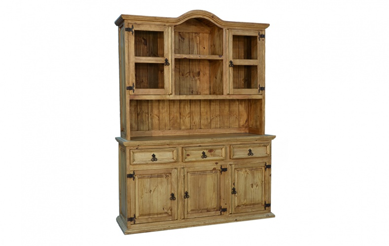 3 DOOR HUTCH AND BUFFET $748