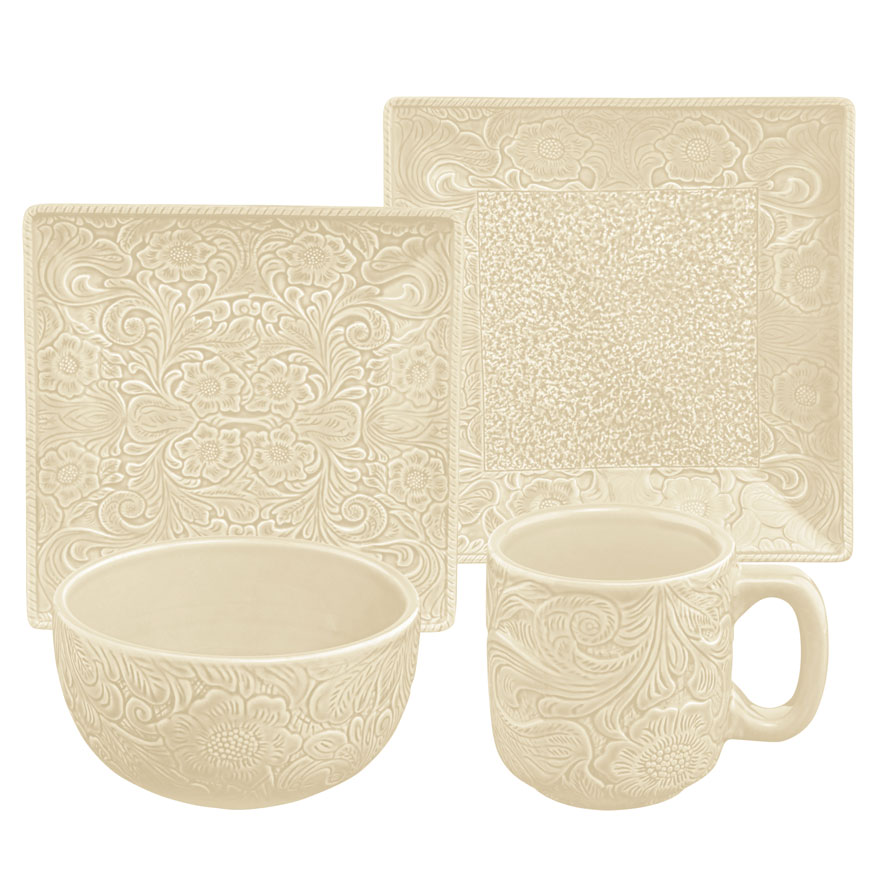 CREAM SAVANNAH DINNERWARE