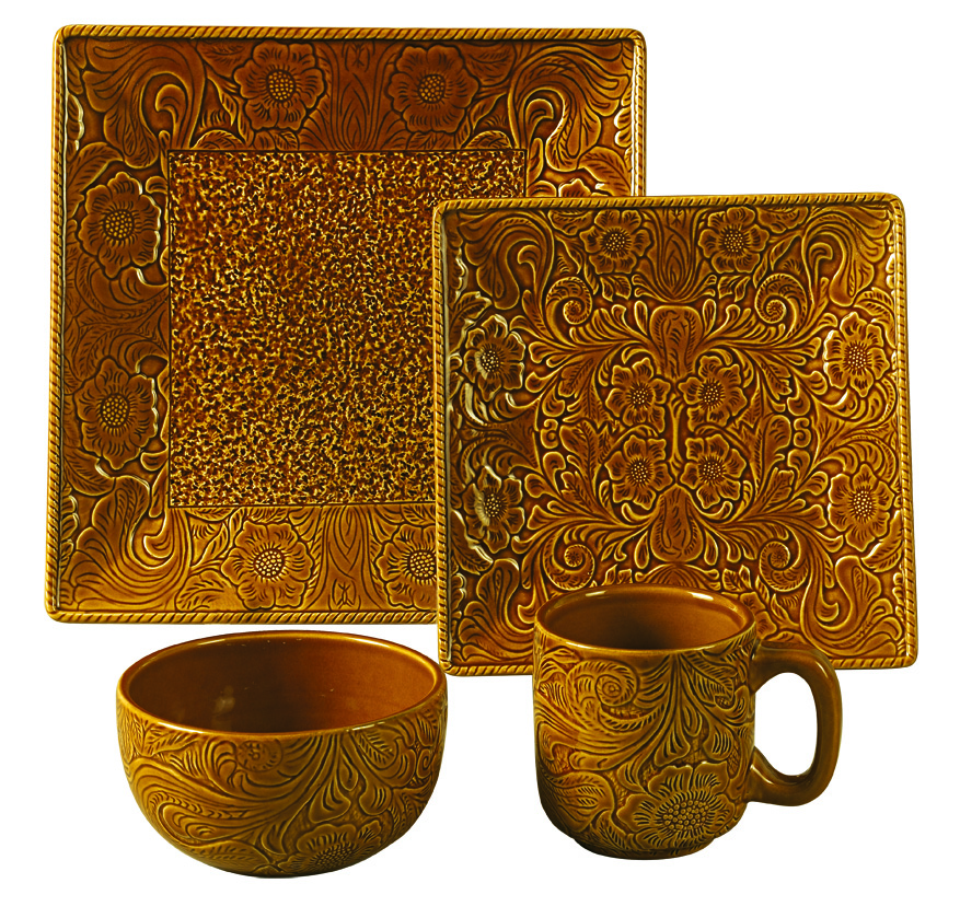 MUSTARD SAVANNAH DINNERWARE