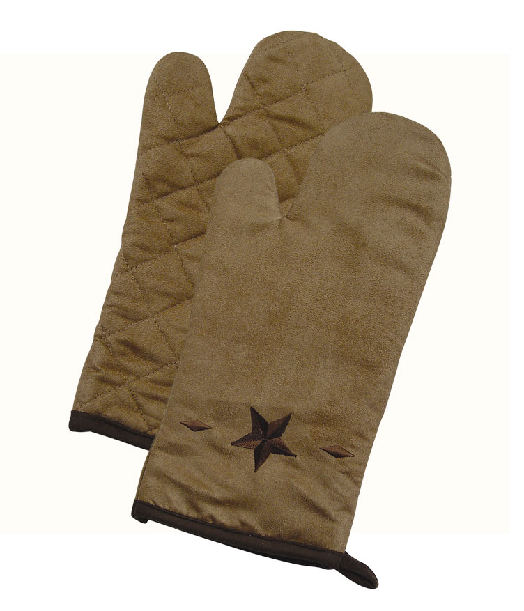 STAR OVEN MITTS $6.99