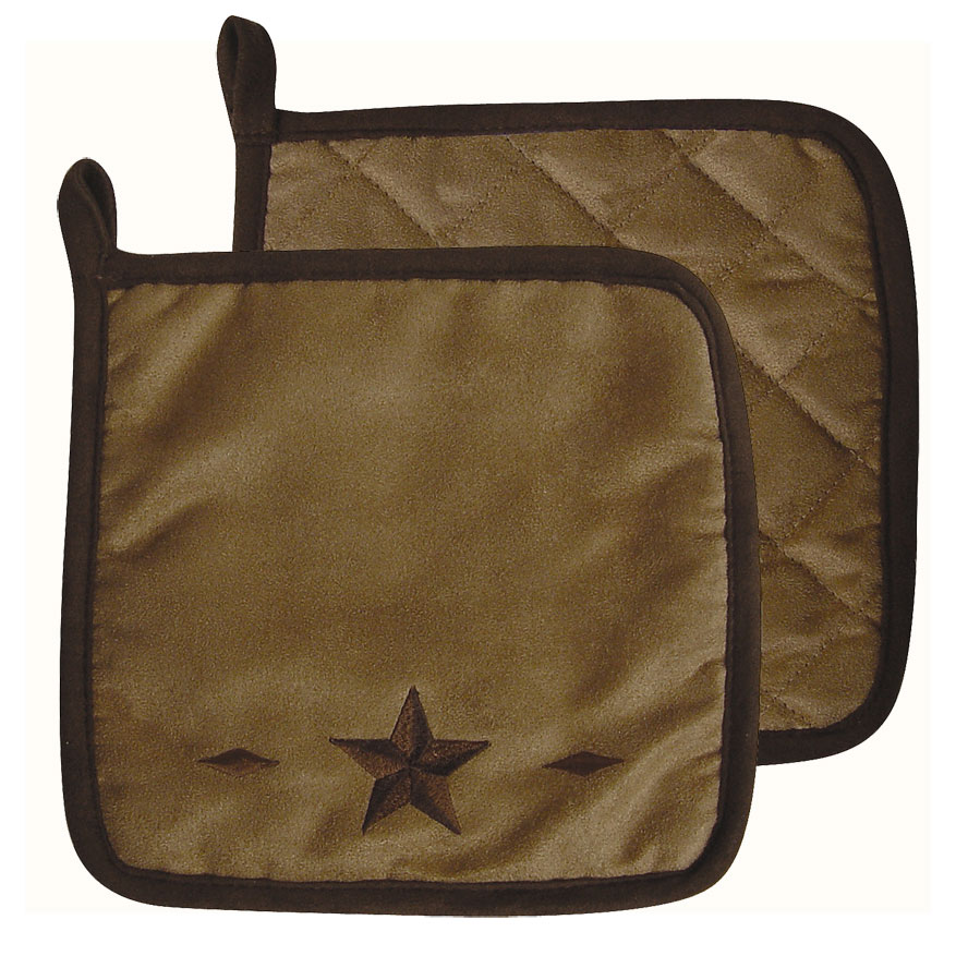 STAR POT HOLDERS $8.99