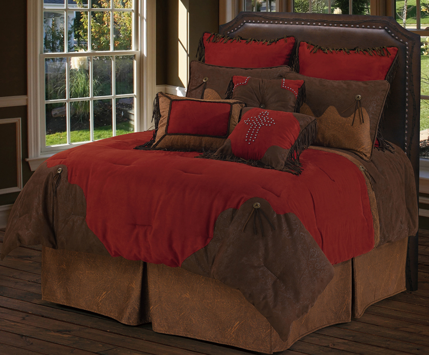 RED RODEO BEDDING $359