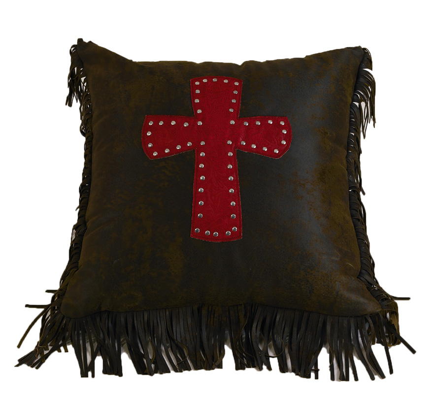 RED CHEYENNE PILLOWS