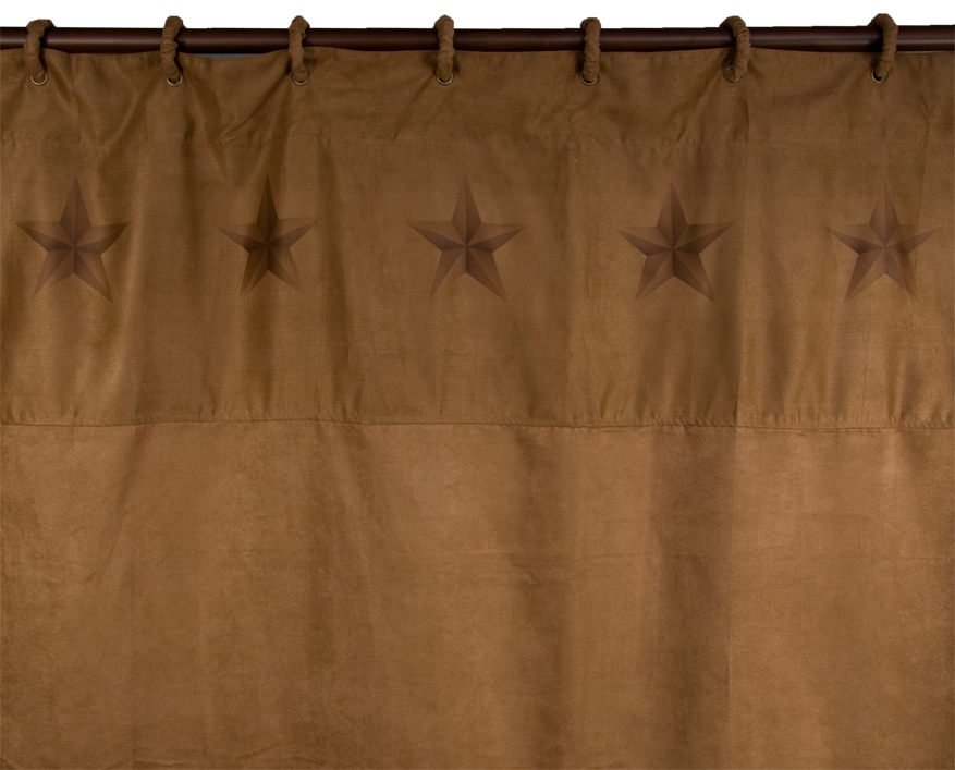 LUXURY STAR SHOWER CURTAIN $79