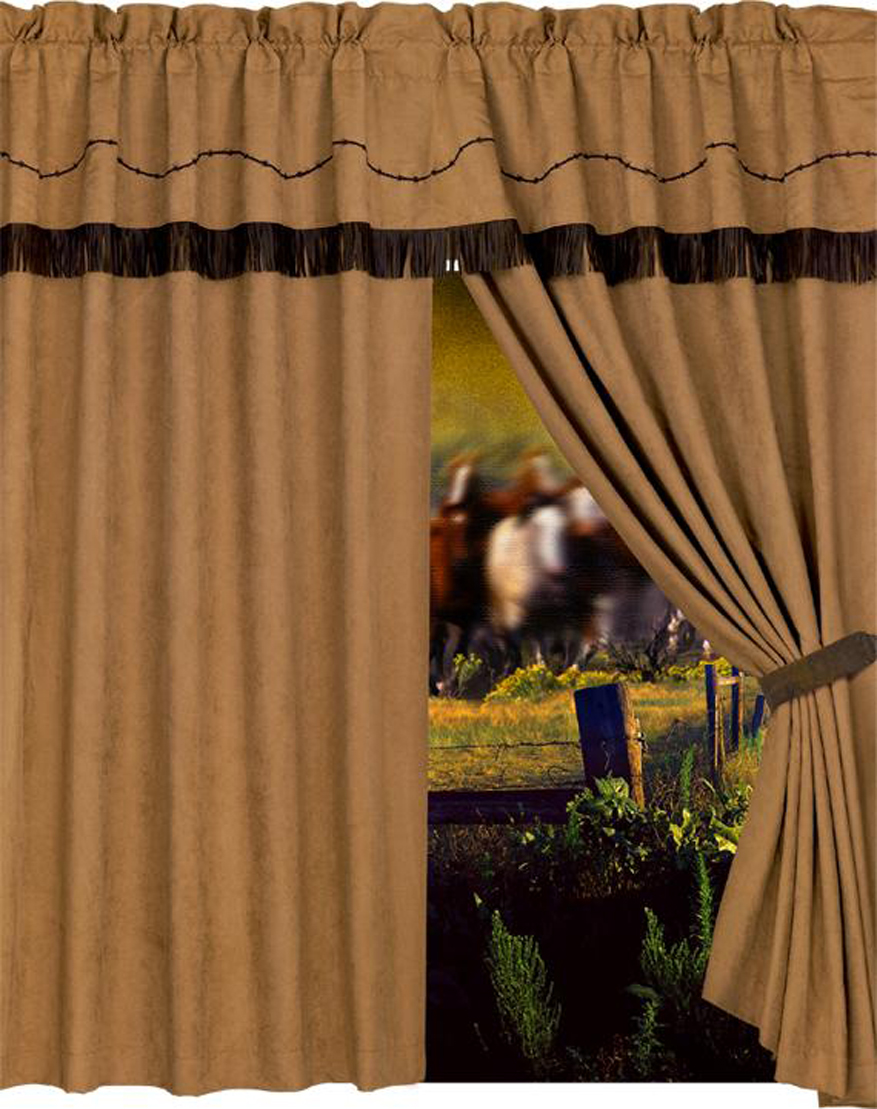 BARBWIRE CURTAINS $69