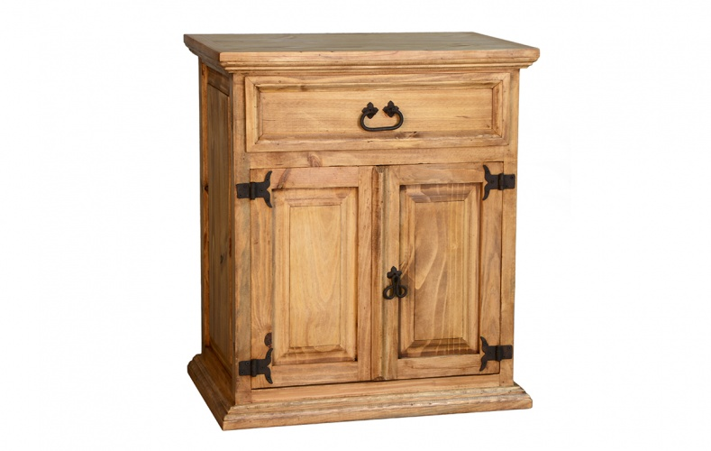 LARGE ONE DRAWER / 2 DOOR NIGHTSTAND $149