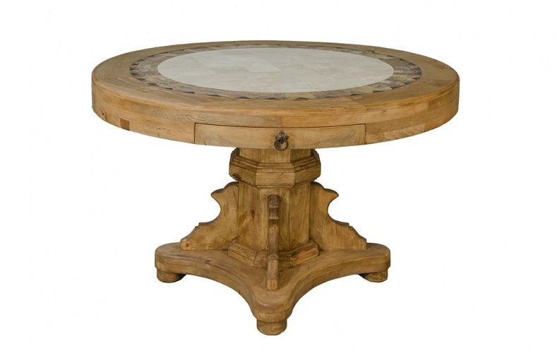 ROUND MARBLE TOP TABLE $599