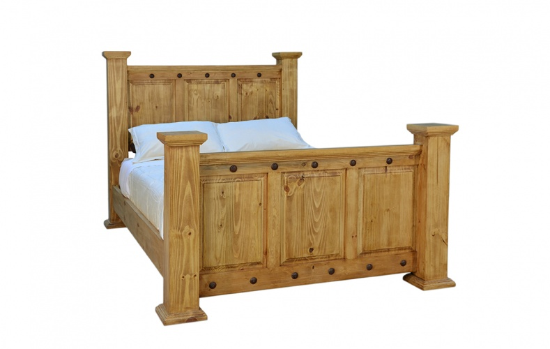 HACIENDA BEDROOM SET queen$1049 King$1149