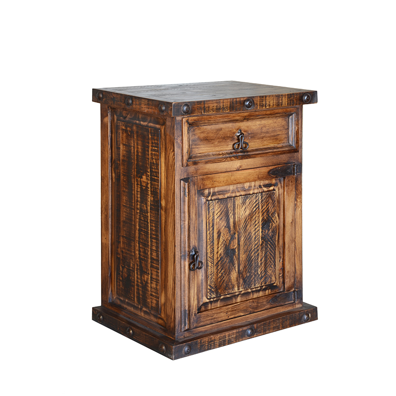 RUSTIC SMALL NIGHTSTAND $129