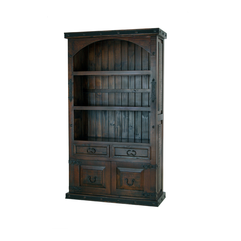 gh CURVED 2 DOOR BOOKCASE $749