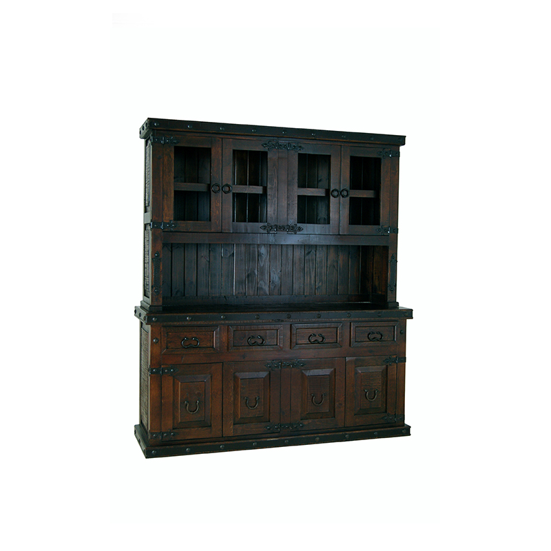 gh large 4 door hutch and buffet1398