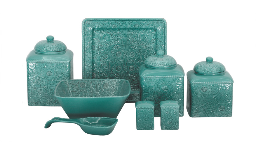 turquoise SAVANNAH DINNERWARE ACCESSORIES