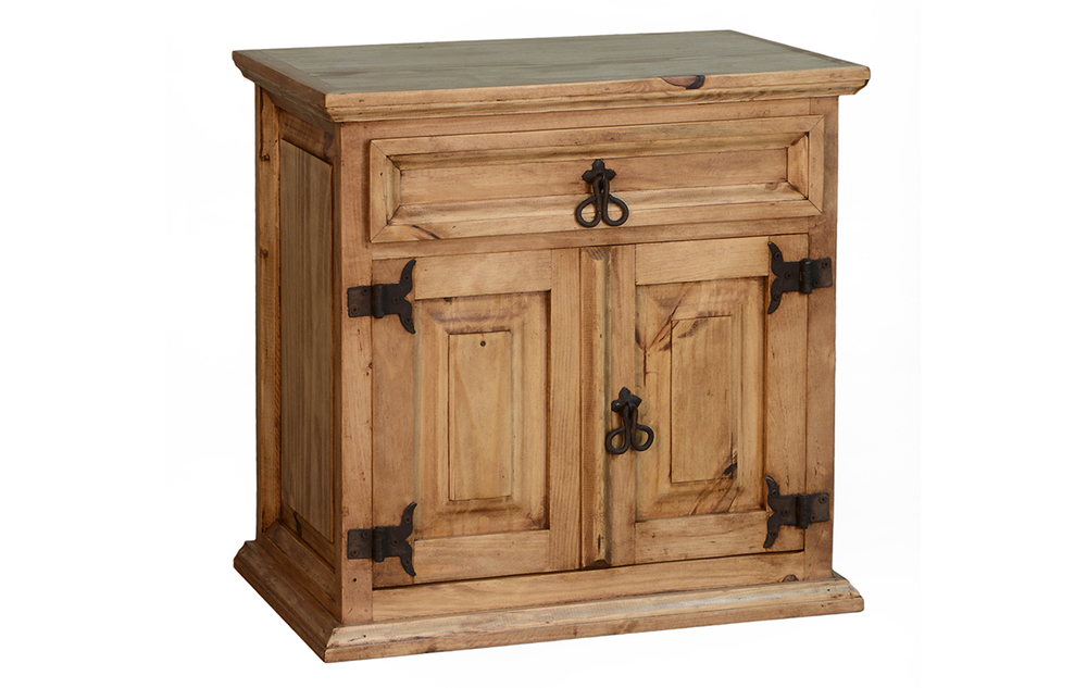ONE DRAWER / 2 DOOR NIGHTSTAND  $109