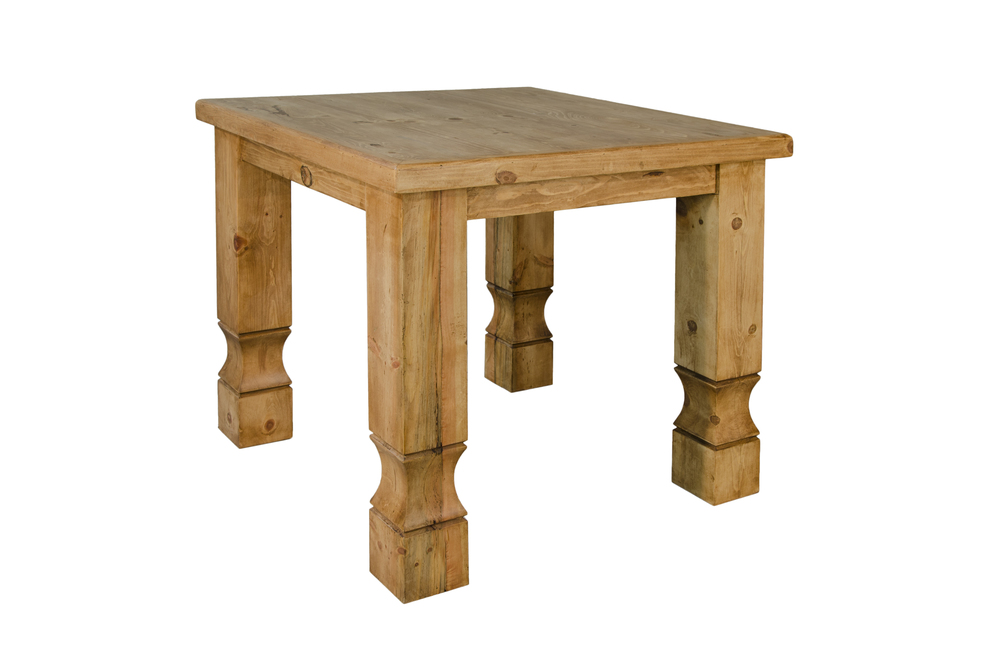 square cowboy table$325