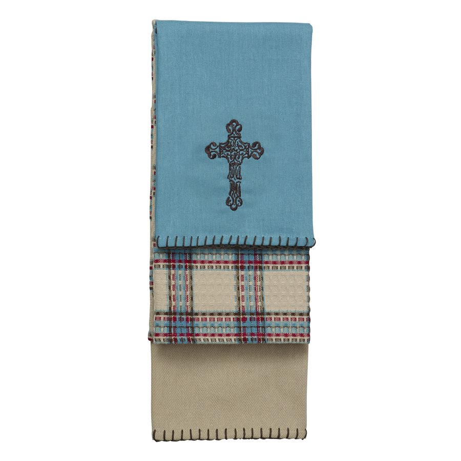 CROSS TOWELS $21.99