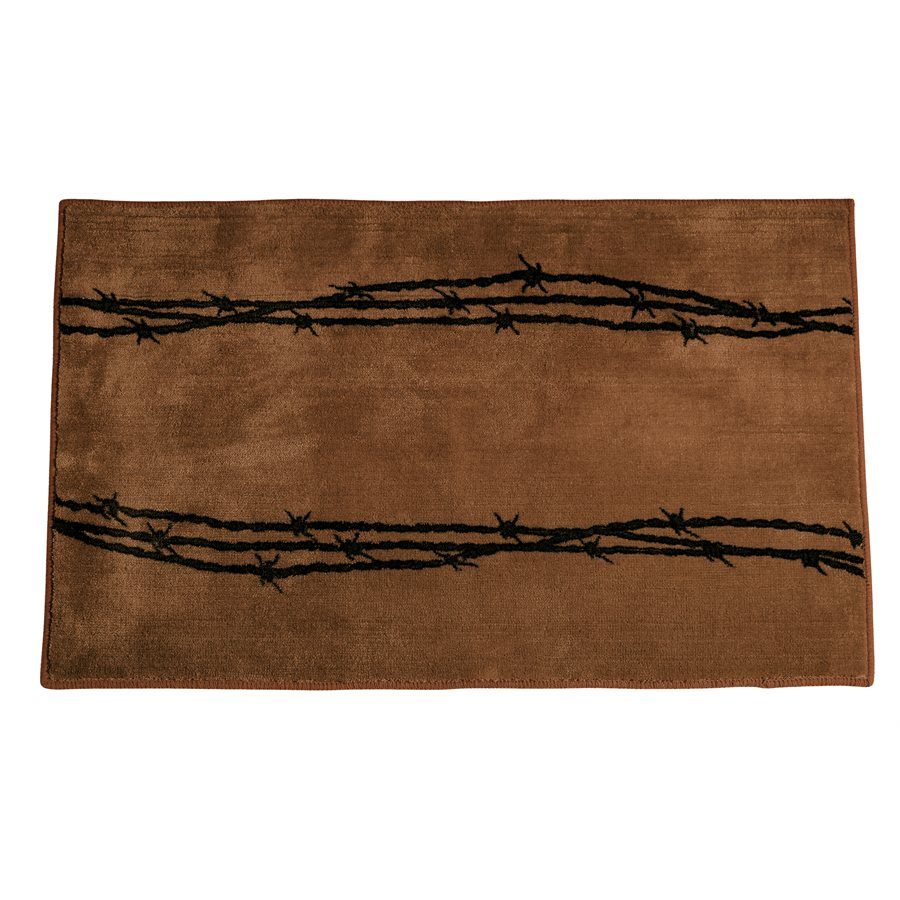 BARBWIRE RUG $39