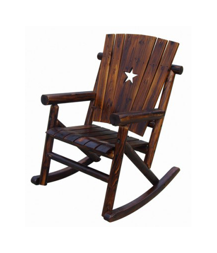 CHAR LOG ROCKER WITH STAR$189