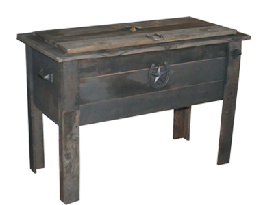 BARN WOOD 154 QUART COOLER $249