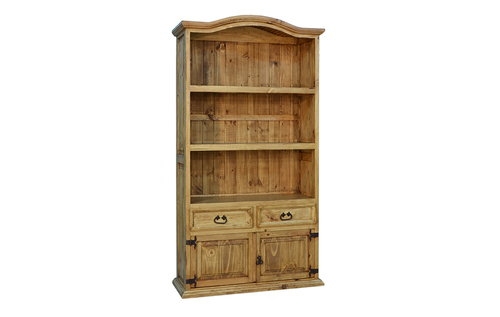 2 DRAWER 2 DOOR BOOKCASE $379
