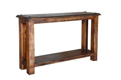 RUSTIC SOFA TABLE $199