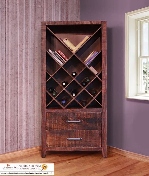 WINE BOOKCASE  $729