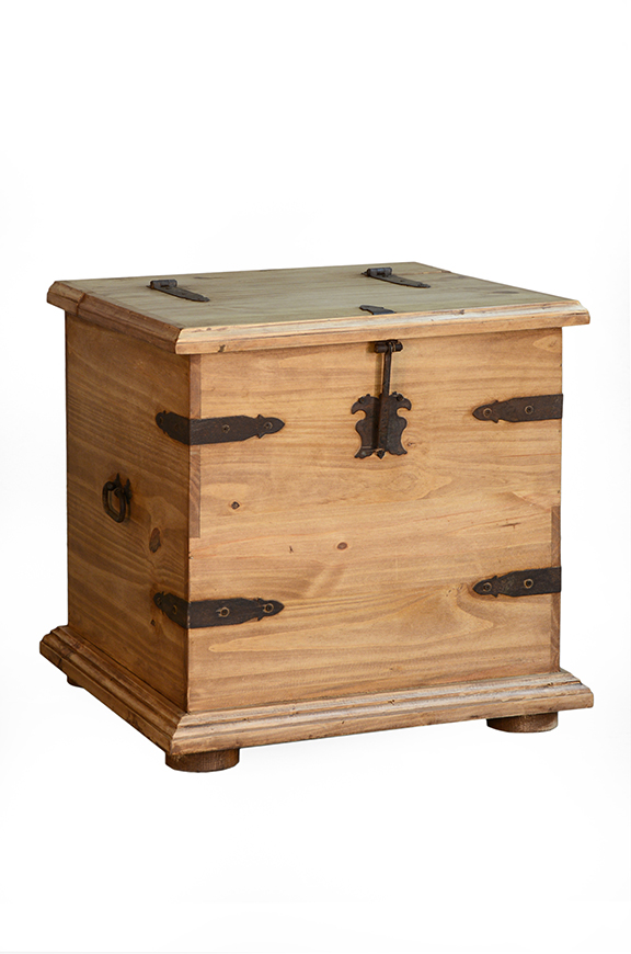 TRUNK END TABLE $129