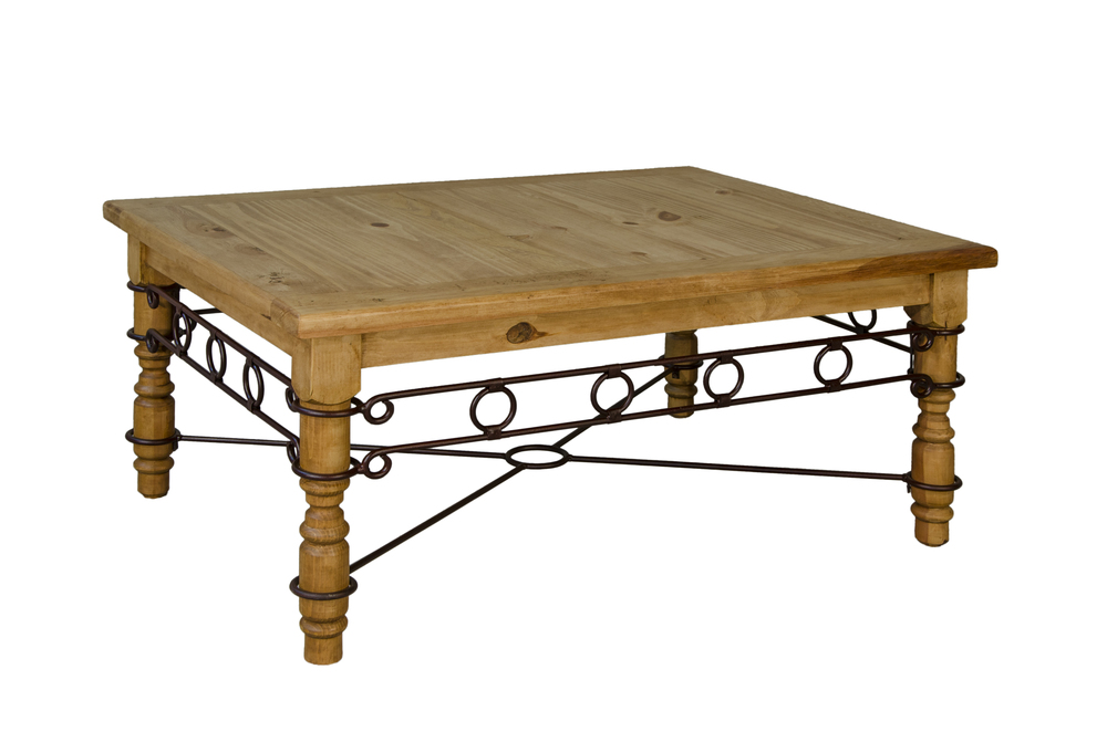 TEXAS IRON COFFEE TABLE $199