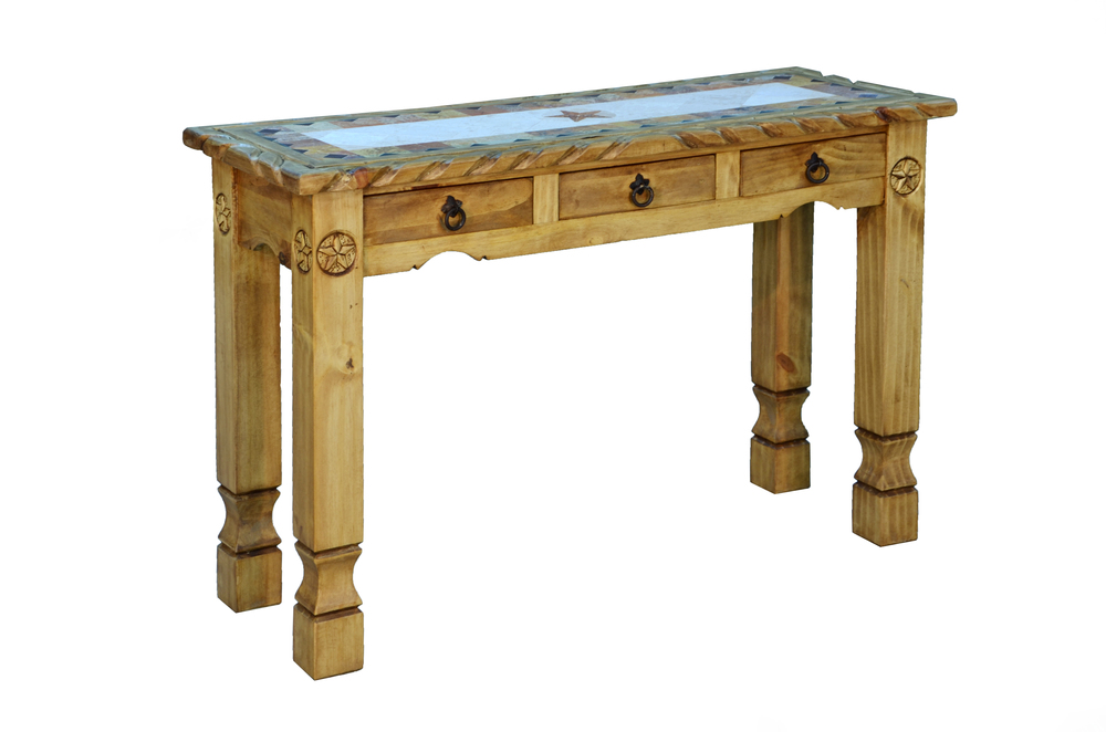 MARBLE SOFA TABLE $329