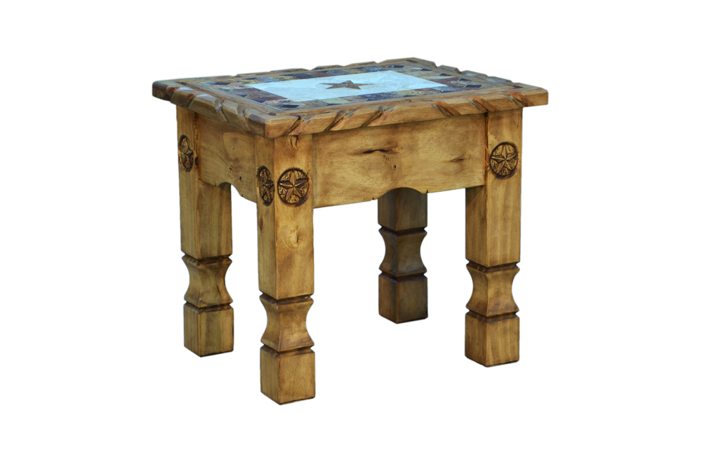 MARBLE END TABLE $229