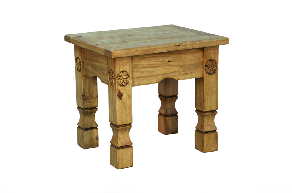 COWBOY END TABLE $129