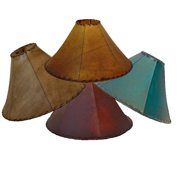 RAWHIDE LAMPSHADES $99-129