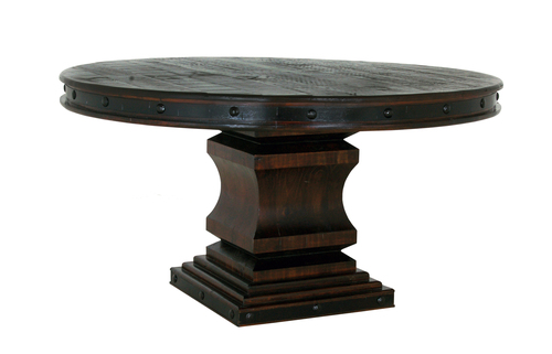 "GRAND HACIENDA ROUND 50"" TABLE  $599"