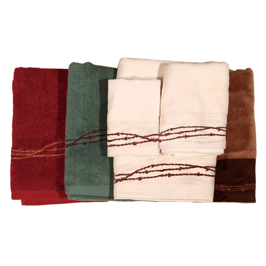 BARBWIRE TOWELS $42